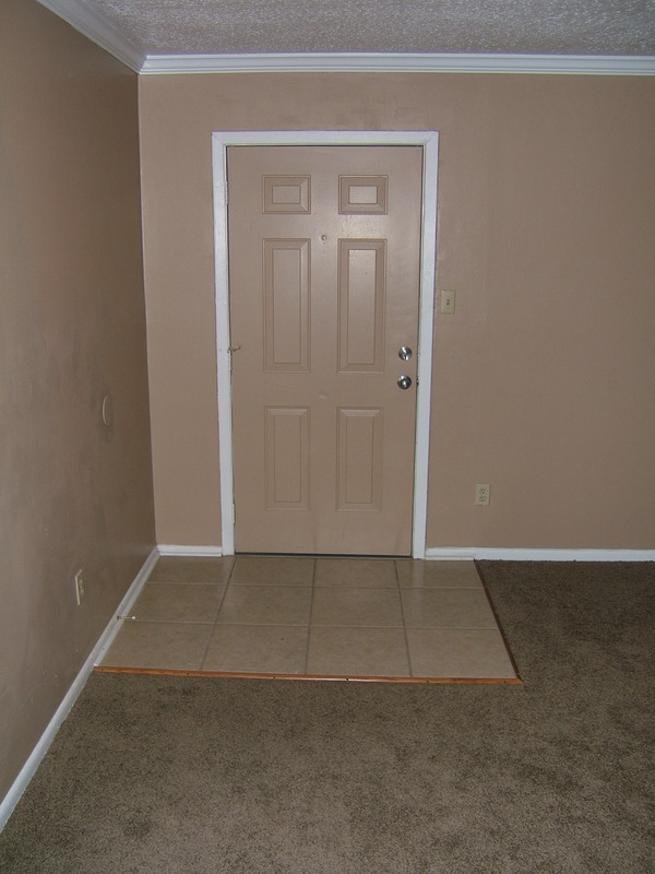 Tile Entry to keep the dirt out