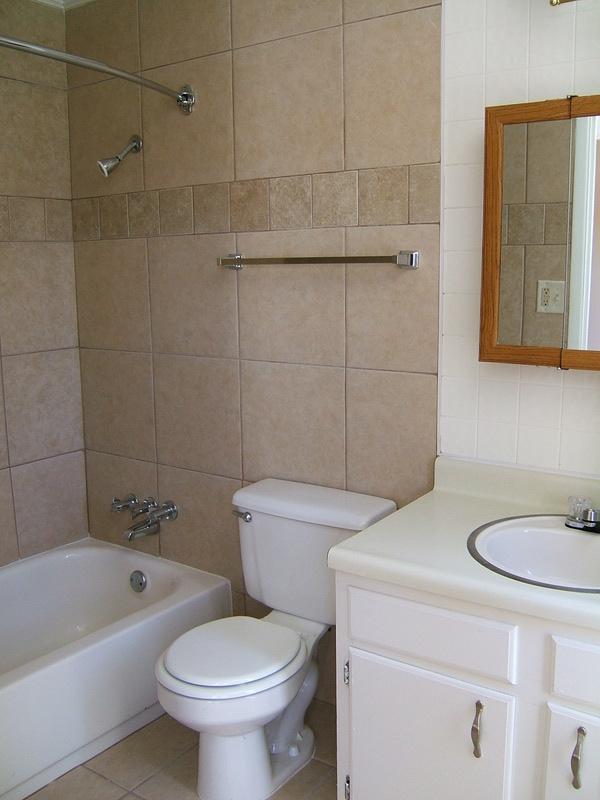 2 Bedroom Flat Bathroom