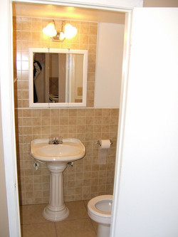 Typical 1/2 Bath Downstairs in our