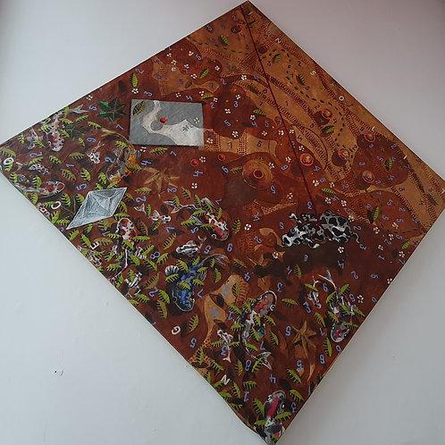 Acrílica e Terra - Artista Plástico Luiz Rettamozo