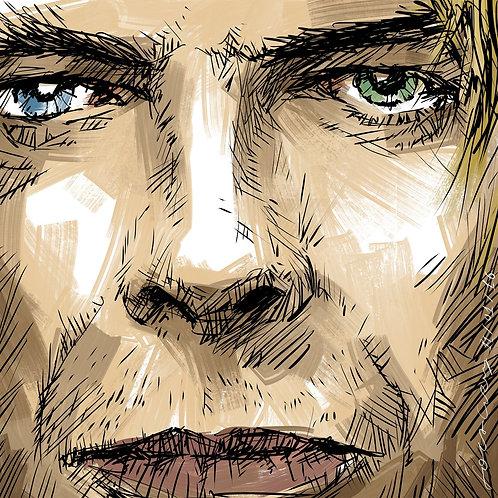David Bowie - Desenhista Foca Cruz