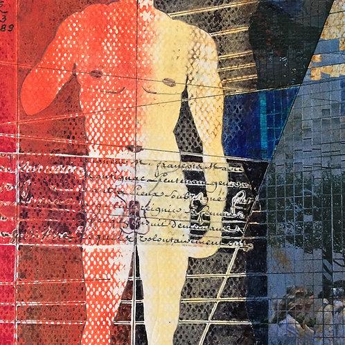 """""""David"""" – 1989 - Artista Plástico Karlos Rischbieter"""