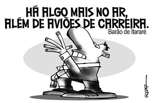 Poster - Barão de Itararé - Cartunista Luiz Antonio Solda