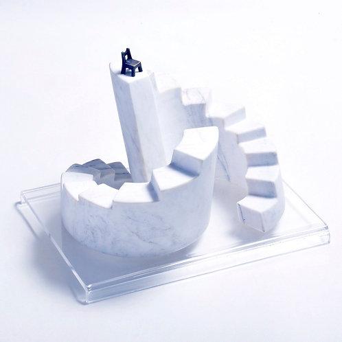 Escultura Moto Contínuo - Escultor Alfi Vivern