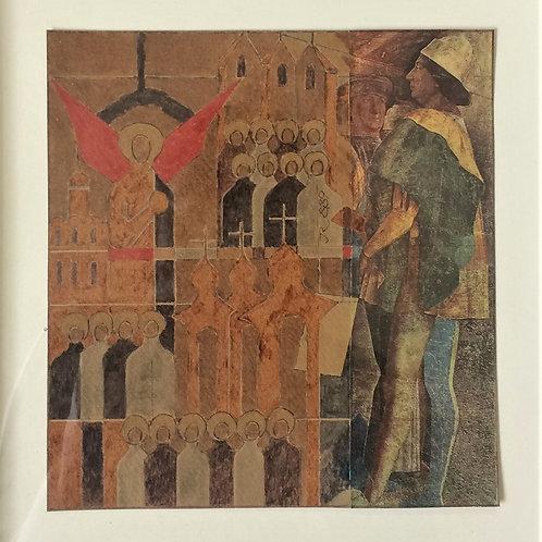 """""""ícone"""" – 1989 - Artista Plástico Karlos Rischbieter"""