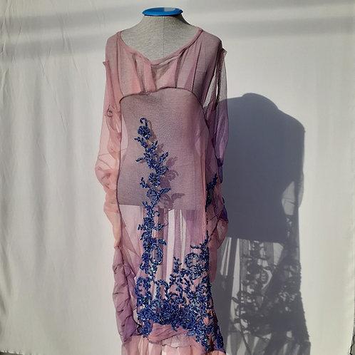 Vestido Útero de Tule - H-AL | Alexandre Linhares & Thifany F.