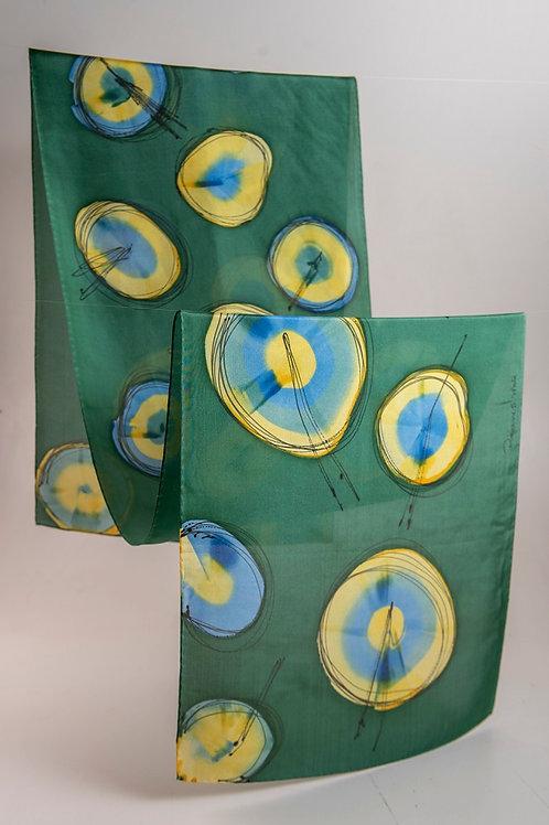 Echarpes de Seda Pindorama - Artista Têxtil Rejane Mota
