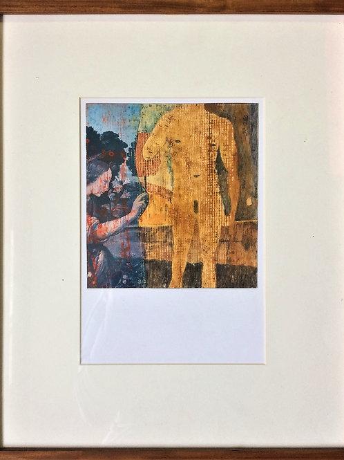 """""""Ingres"""" – Sem ano - Artista Plástico Karlos Rischbieter"""