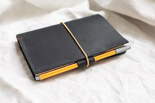 Sketchbook capa de couro - Meemo Handmade