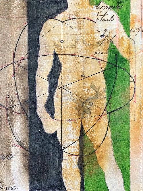 """""""David"""" – 1985 - Artista Plástico Karlos Rischbieter"""