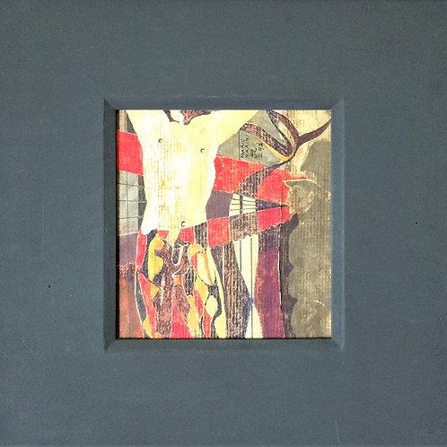 """""""Figura – Mario Marini"""" – 1989 - Artista Plástico Karlos Rischbieter"""