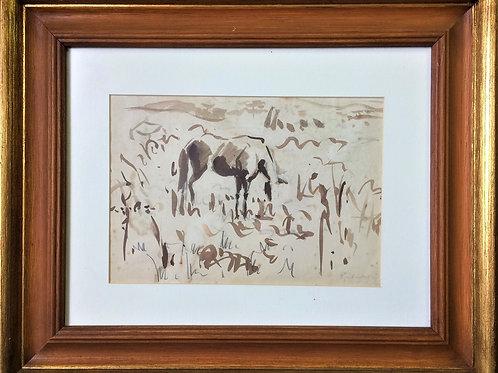 """Cavalo"" - ""Cavalo"" - 1946 - Artista Plástico Paul Garfunkel"