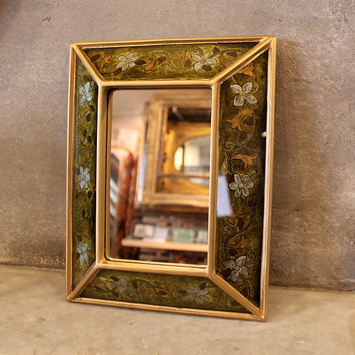 Hand painted mirror frame from Peru