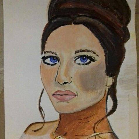 Barbara Striesand by Jade Hurdle