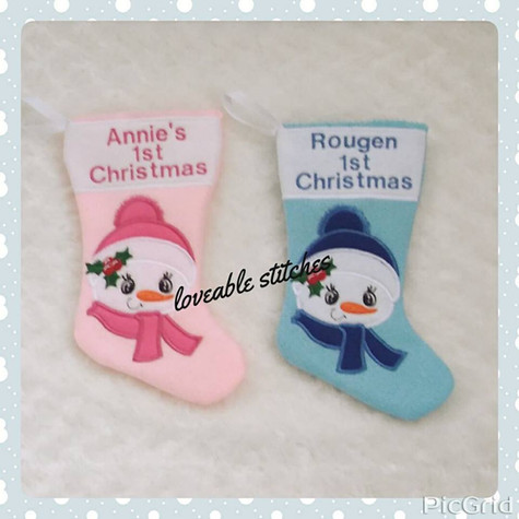 Christmas Stockings by Tanya Hughes