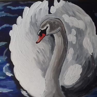 The Swan by Jade Hurdle