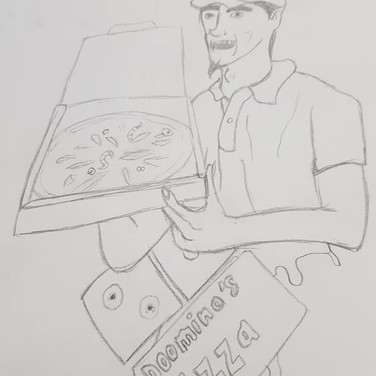 Delivery Man by Kyle