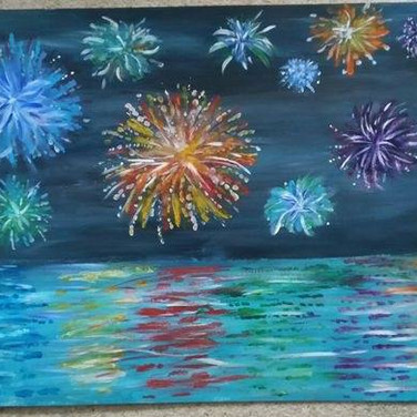 Fireworks by Jade Hurdle