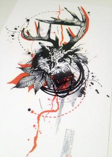 temporary tattoo $8