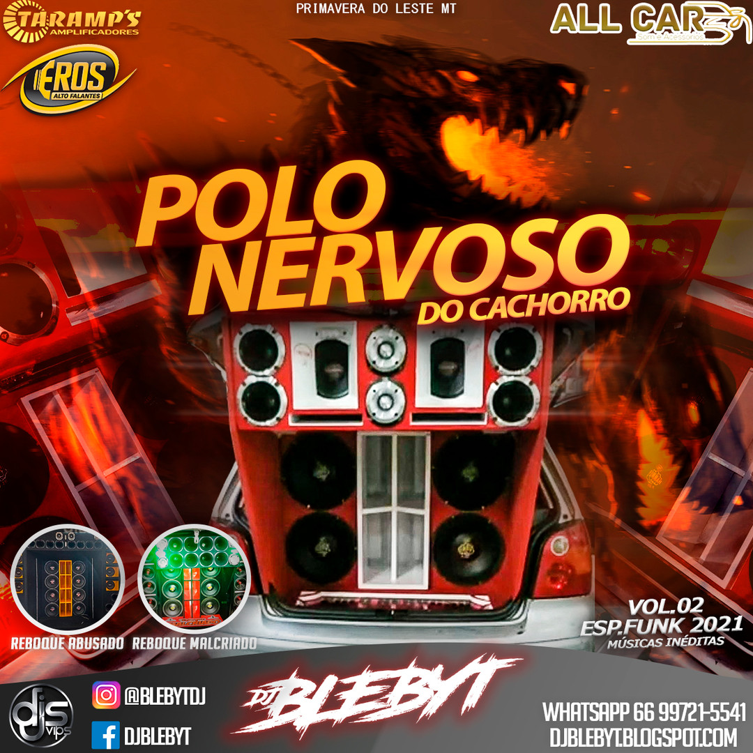 CD Polo Nervoso do Cachorro