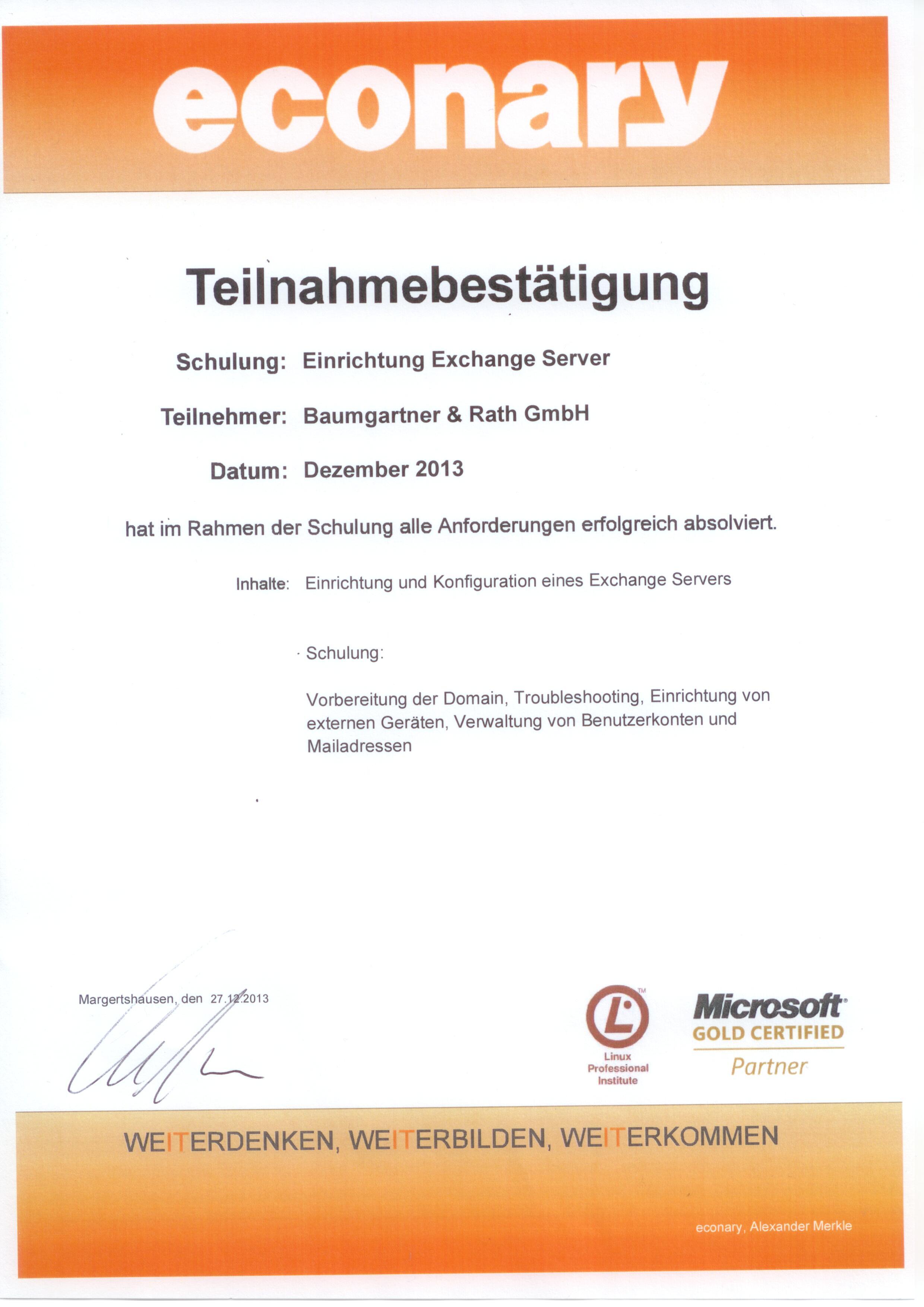 2013_12_Baumgartner+Rath_Exchange