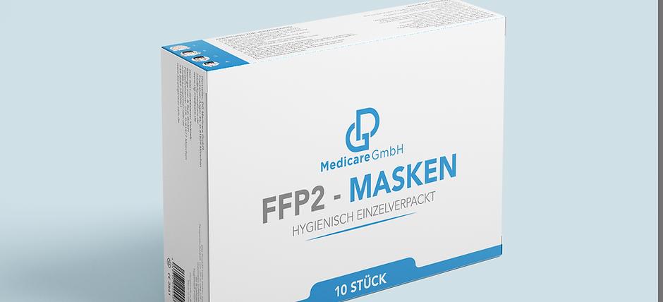 FFP2-Masken (5 x 10er Gebinde) CE2841