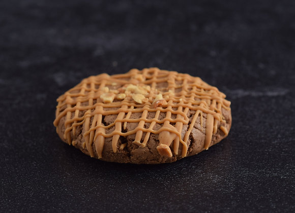Peanut butter Drizzle Cookie