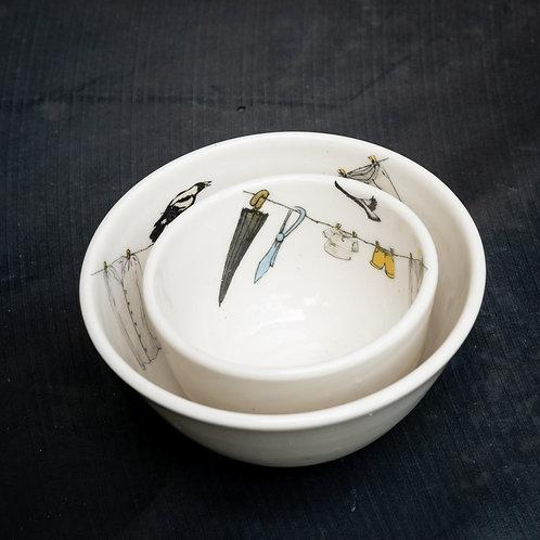 Condiment bowl set No.19