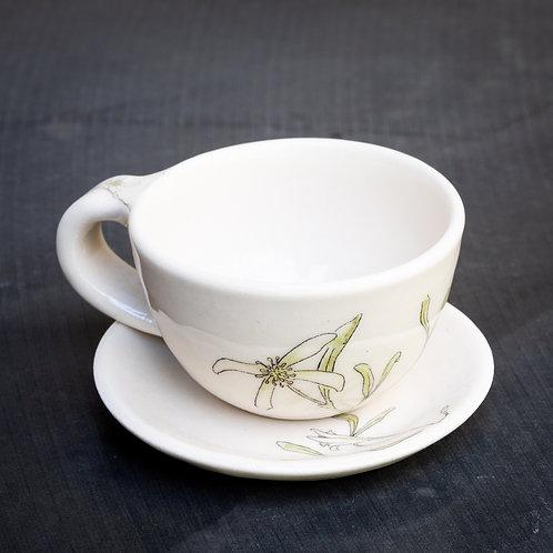 Espresso cup with saucer No.39