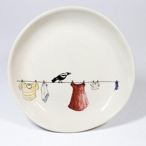 Breakfast plate No.3 -washing day