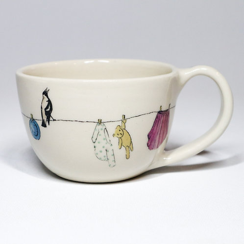 Tea Cup No.2- Washing Day