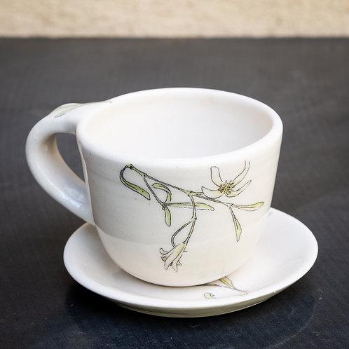 Espresso cup with saucer No.40