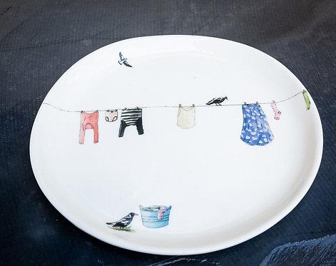 Dinner plate No.57