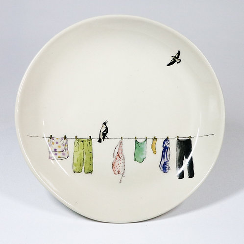 lunch plate No.1 -washing day