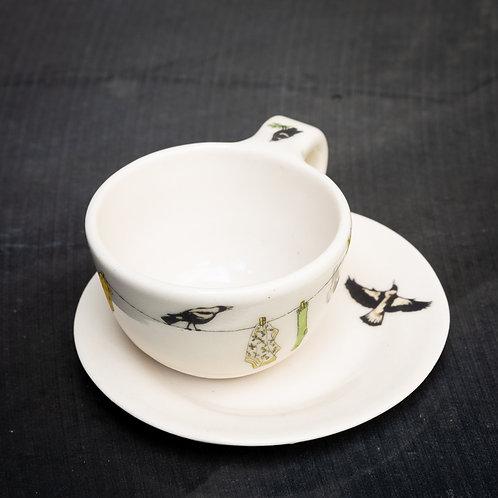 Espresso cup with saucer No.20