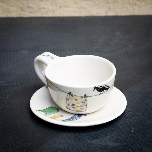 Espresso cup with saucer No.21