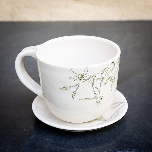 Medium mug and saucer No.35