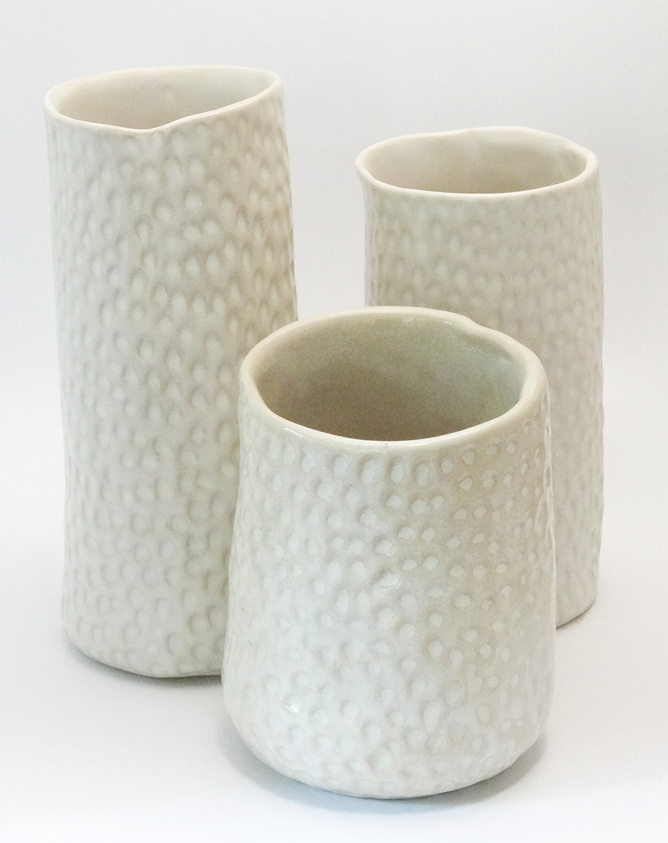 A selection of vases