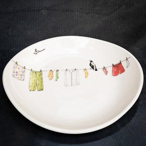 Small oval cut serving dish N0.17