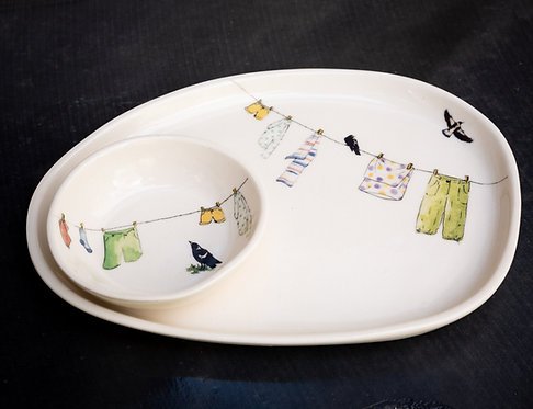 Small platter set N0.42