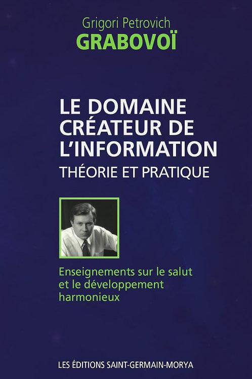 G.GRABOVOI-Le domaine créateur de l'information