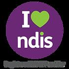 I heart NDIS. Registered NDIS Provider.