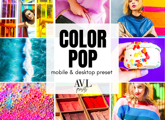 COLOR POP Mobile & Desktop Preset