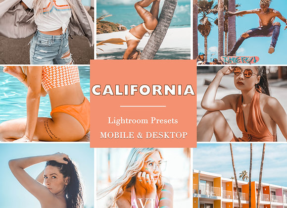 CALIFORNIA Mobile & Desktop Preset