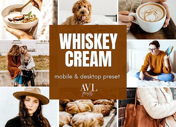 WHISKEY CREAM Mobile & Desktop Preset