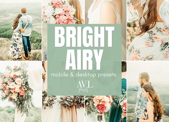 BRIGHT & AIRY Mobile & Desktop Preset