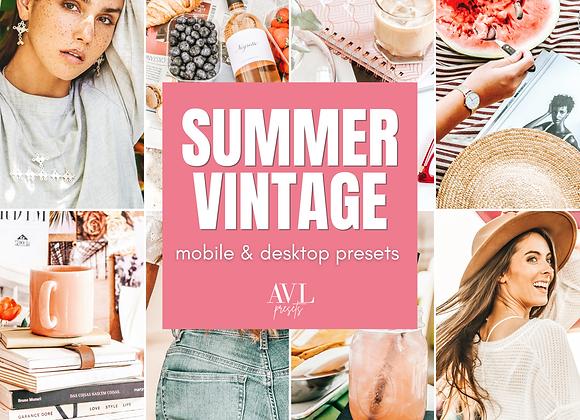 SUMMER VINTAGE Mobile & Desktop Preset