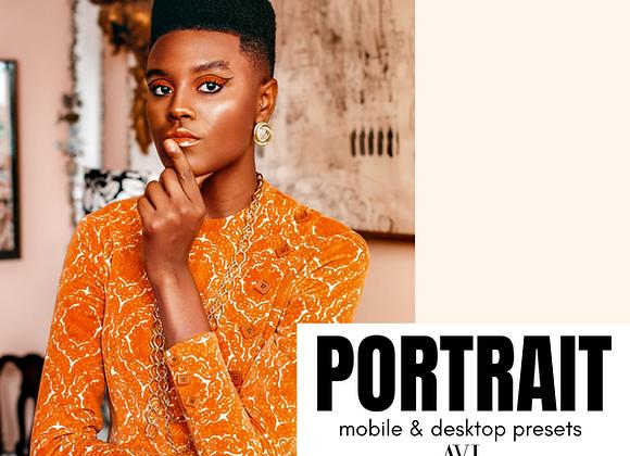 PORTRAIT Mobile & Desktop Preset