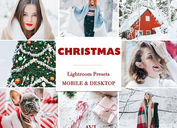CHRISTMAS Mobile Preset