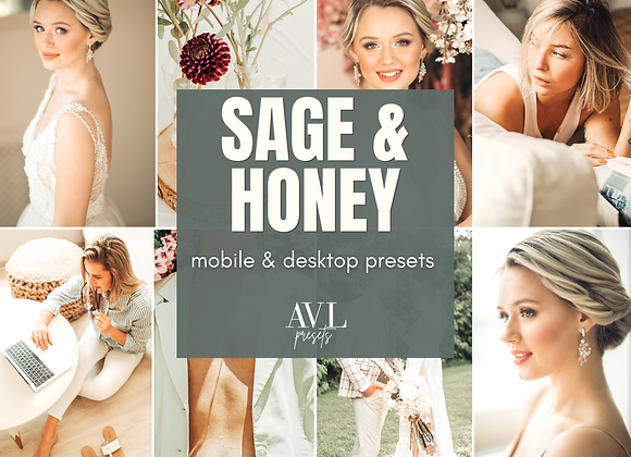 SAGE & HONEY Mobile & Desktop Preset